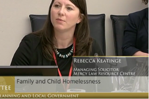 MLRC Oireachtas Committee Presentation on Child and Family Homelessness, 12 June 2019