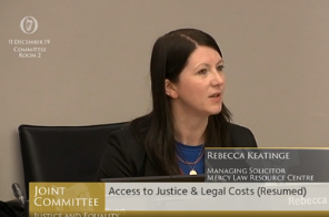 MLRC Statement to the Joint Oireachtas Committee on Justice and Equality – 11 December 2019